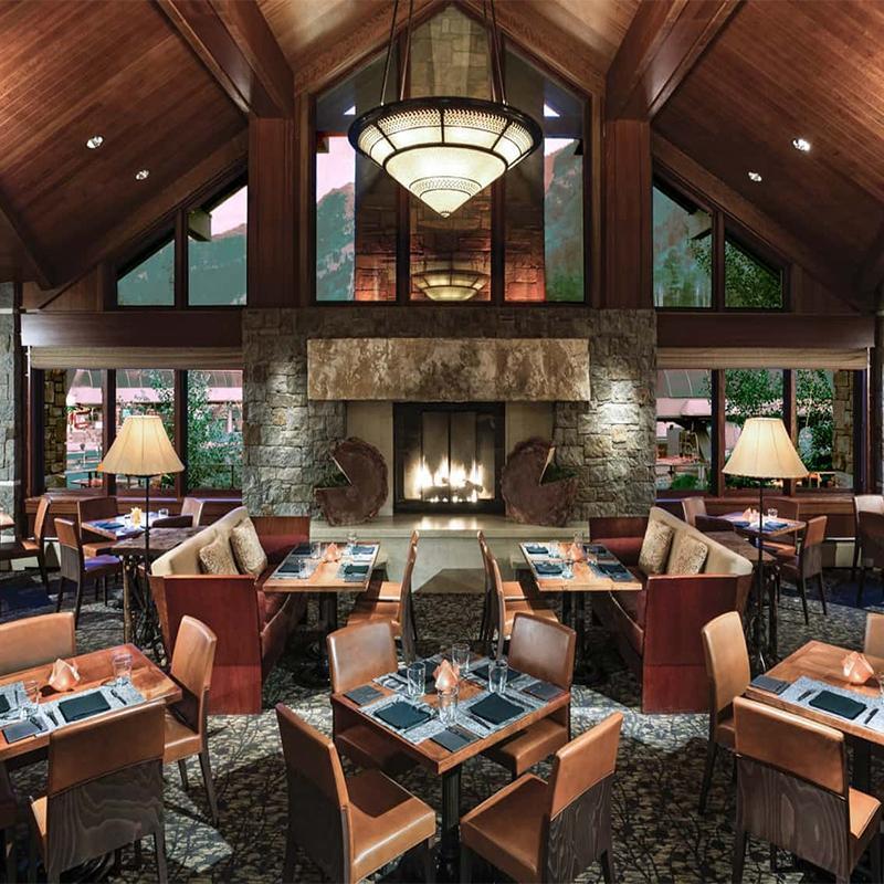 Wooden Furniture Restaurant Dining Set