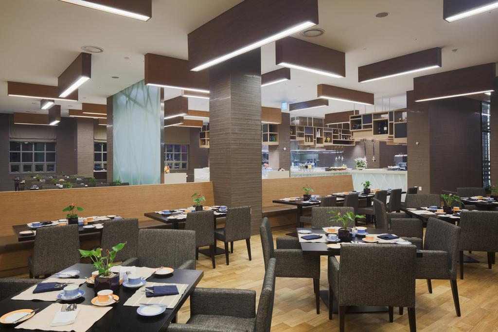 YSK Furniture modern style modern restaurant furniture plywood five star hotel-1