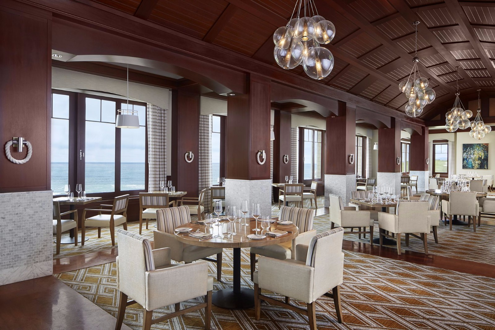 YSK Furniture modern style luxury restaurant furniture high quality restaurant furniture-1