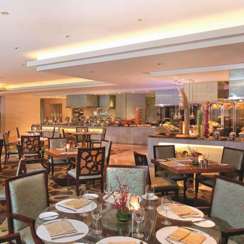 Commercial Furniture Restaurant with Wood Material