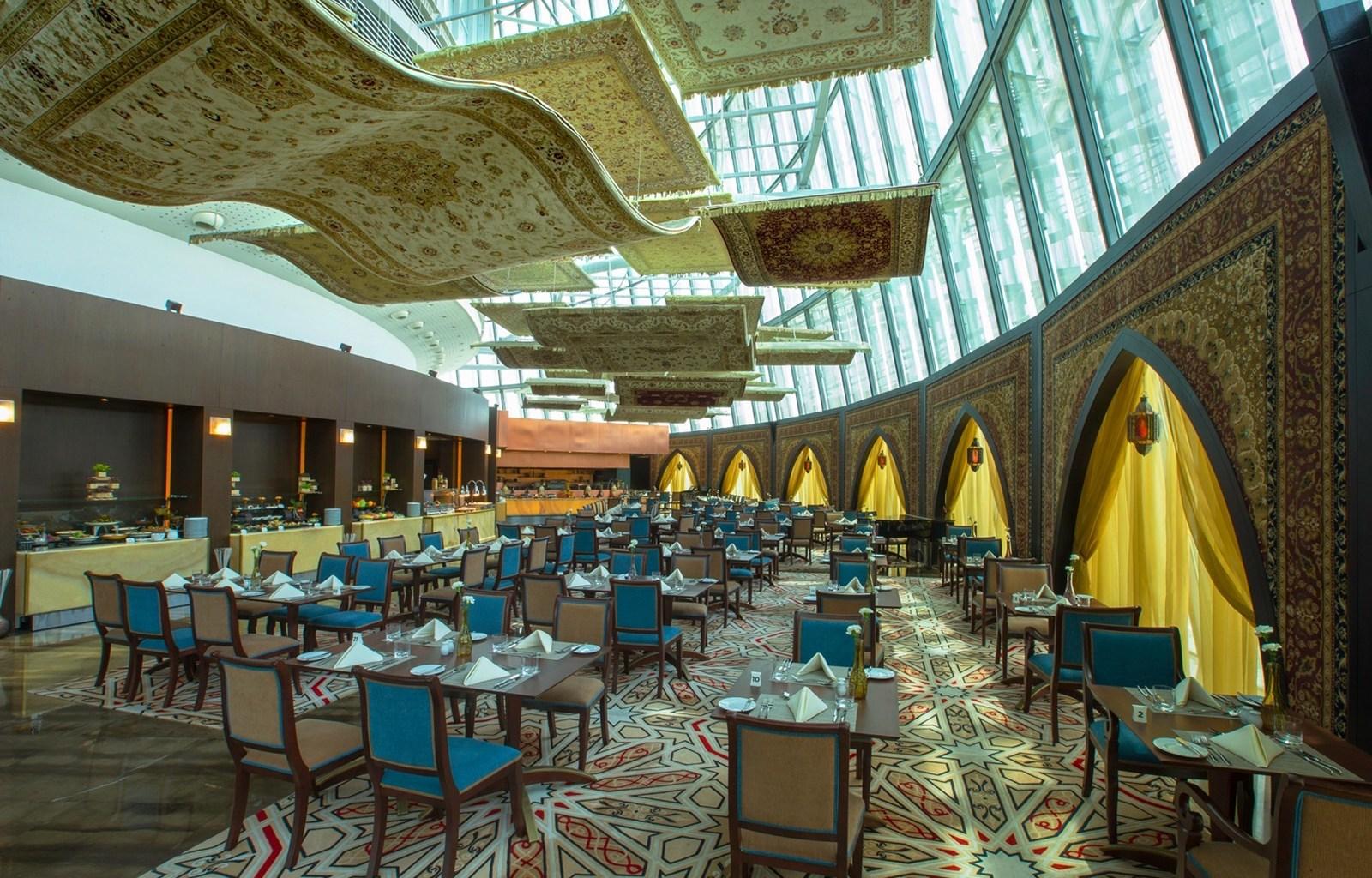 YSK Furniture contemporary custom restaurant furniture luxury ship furniture-1