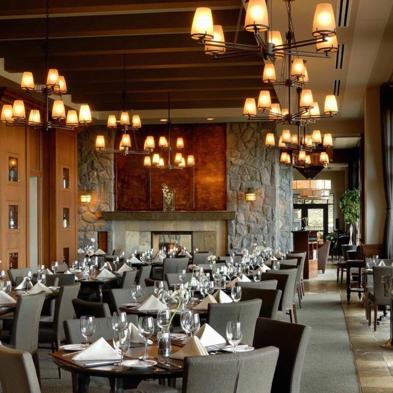 Wood and Leather Chair Restaurant Modern Furniture