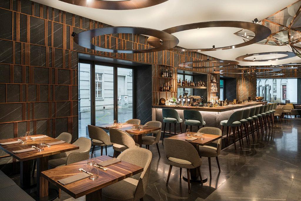 YSK Furniture Chinese restaurant restaurant furniture design plywood five star hotel-1