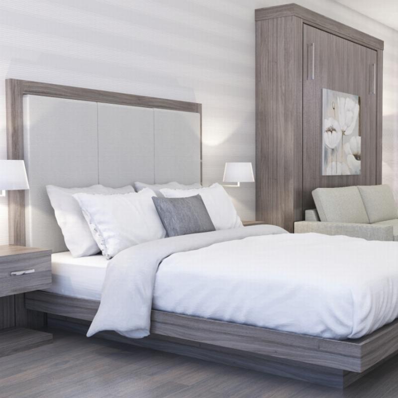Economic Custom Hotel Apartment Project Furniture Bedroom Furniture Set
