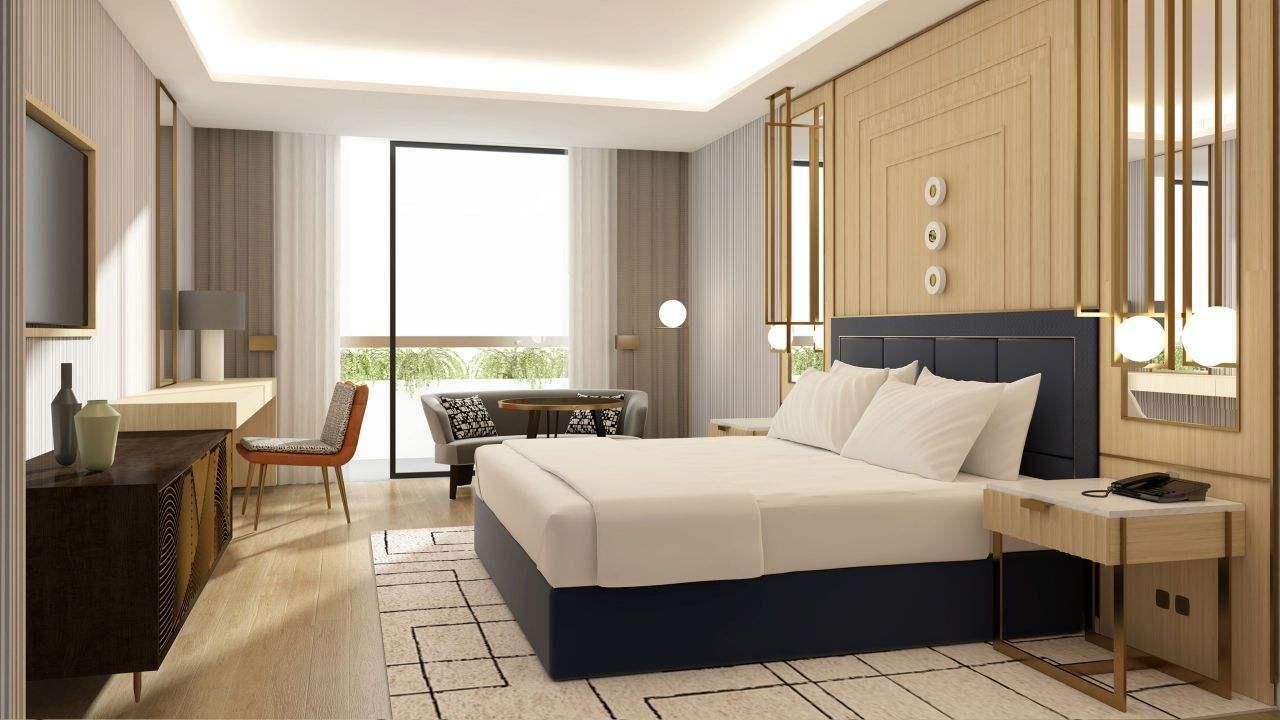 YSK Furniture commercial hotel room furniture for sale resort modern bedroom