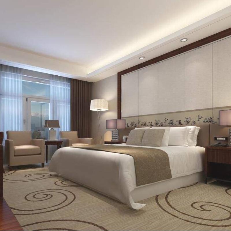 Modern Customize Foshan Double Bed Room Hotel Furniture Bedroom Set