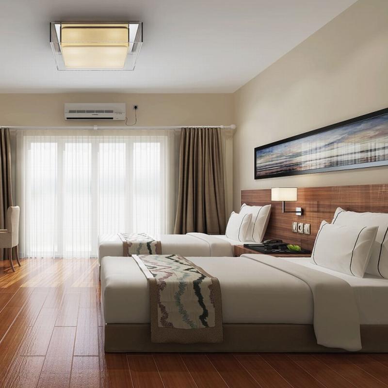 Custom Made Hotel Lobby Furniture Wood Hotel Indoor Furniture