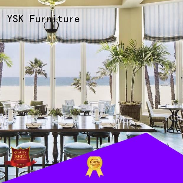 YSK Furniture unique custom restaurant furniture plywood dining furniture