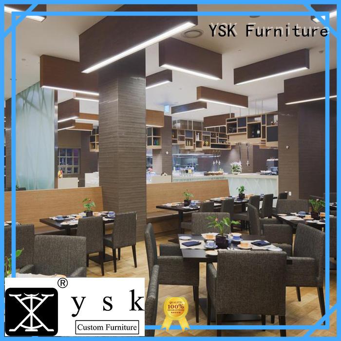 YSK Furniture customization restaurant furniture high quality restaurant furniture