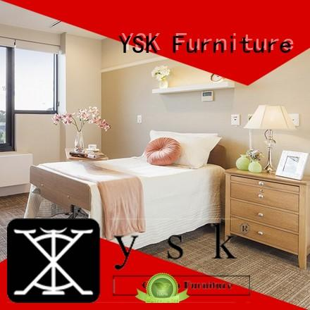 YSK Furniture factory price retirement home furniture suppliers room decoration