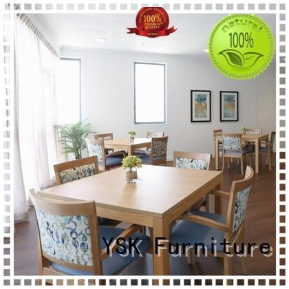 professional assisted living furniture factory price custom made room decoration