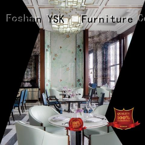 YSK Furniture contemporary restaurant furniture design stylish made five star hotel