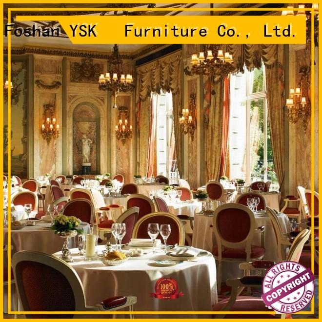 YSK Furniture latest restaurant furniture design high quality ship furniture