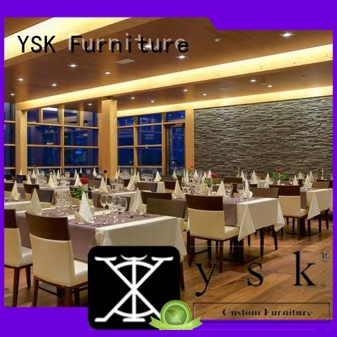 YSK Furniture project custom restaurant furniture plywood restaurant furniture