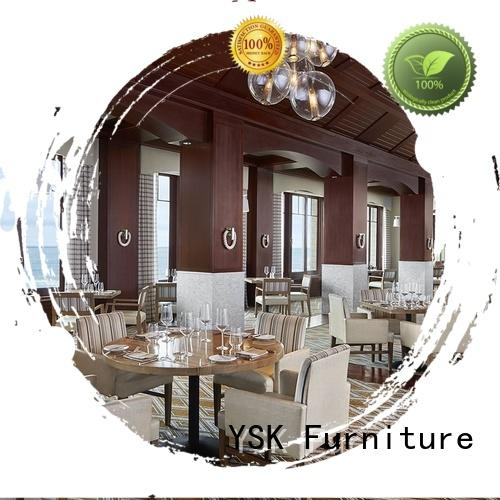 YSK Furniture contract cruise contract restaurant furniture luxury five star hotel