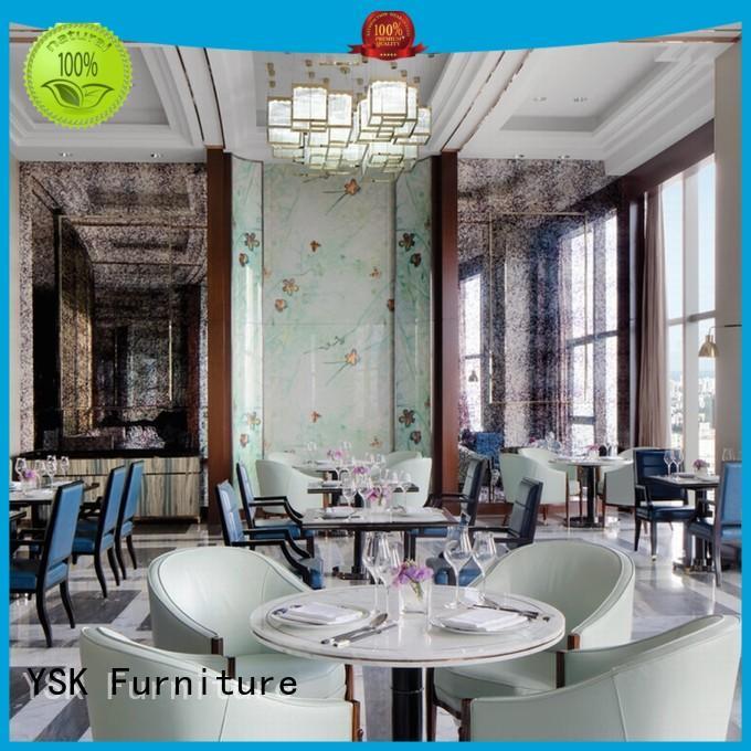 YSK Furniture upholstery custom restaurant furniture luxury dining furniture