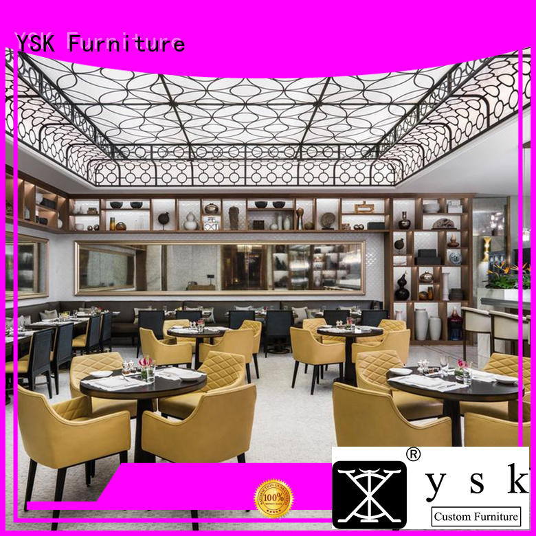 YSK Furniture latest restaurant furniture design stylish made restaurant furniture