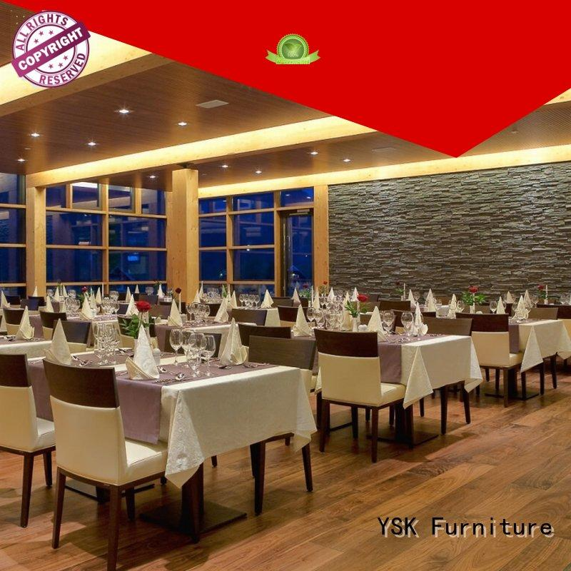 YSK Furniture contemporary luxury restaurant furniture stylish made dining furniture