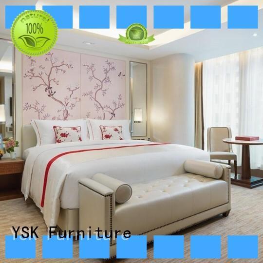 YSK Furniture hot-sale hotel furniture distributors quality modern bedroom