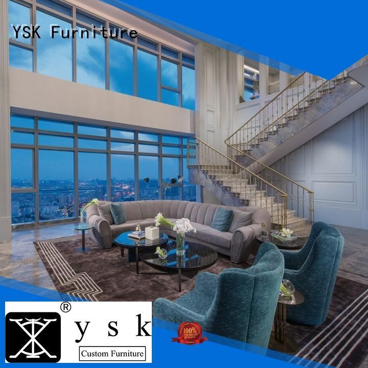 YSK Furniture bulk production custom club furniture for house