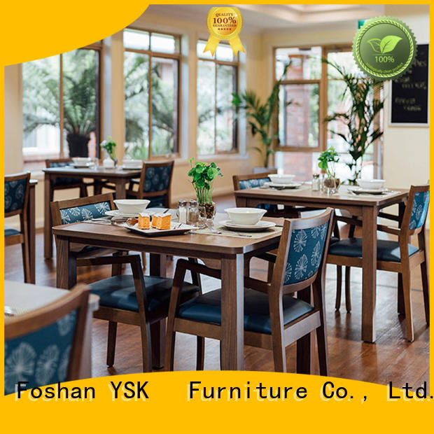 YSK Furniture factory price assisted living furniture homes senior age