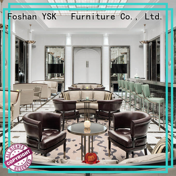 YSK Furniture clubs club table and chairs hot-sale