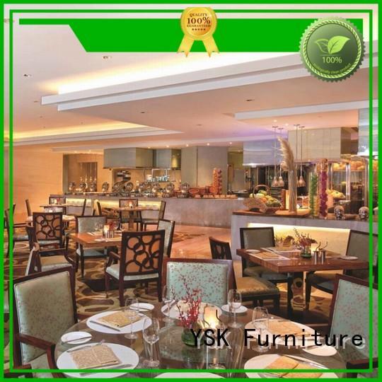 YSK Furniture unique modern restaurant furniture high quality dining furniture