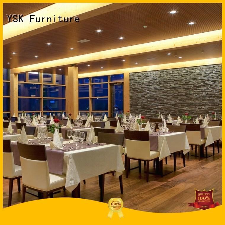YSK Furniture contemporary modern restaurant furniture luxury ship furniture