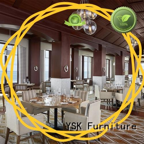 YSK Furniture deluxe design modern restaurant furniture interior five star hotel