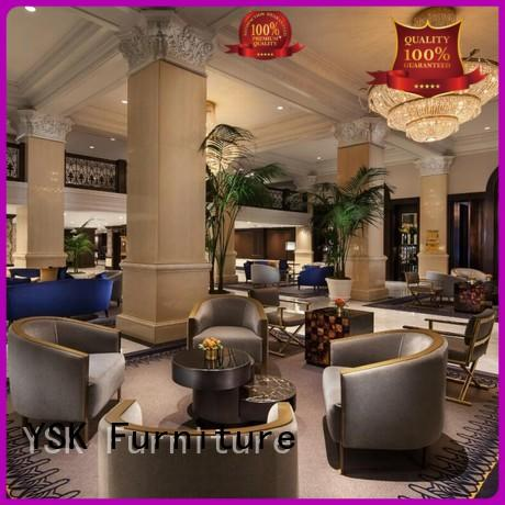 YSK Furniture hot-sale clubhouse furniture for hotel
