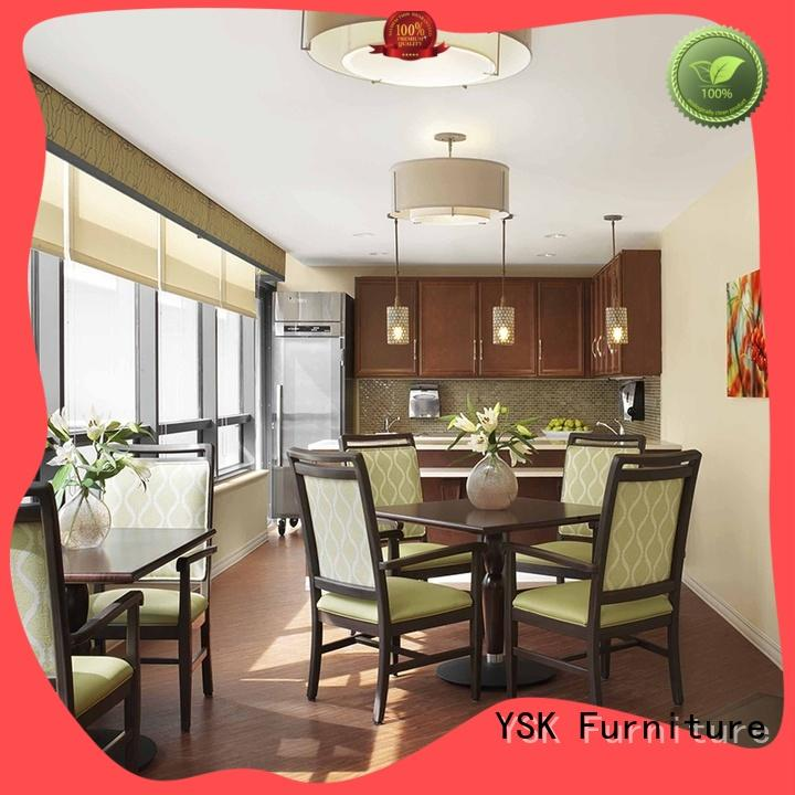 YSK Furniture factory price retirement home furniture suppliers facility community