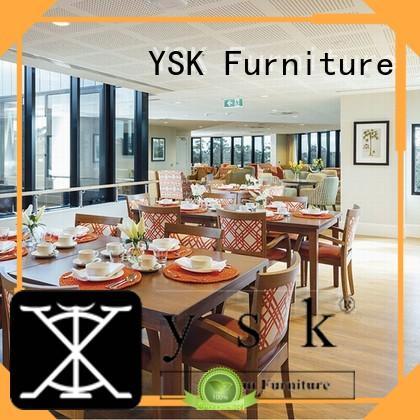 YSK Furniture restaurant tables luxury five star hotel