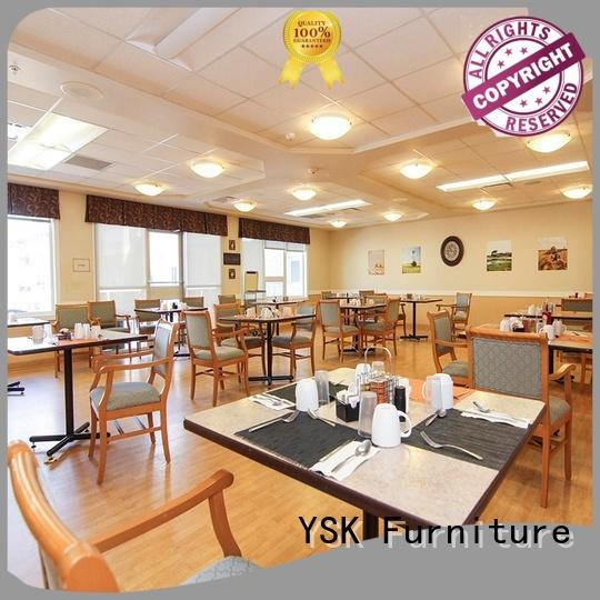 YSK Furniture professional furniture for assisted living facilities suppliers room decoration