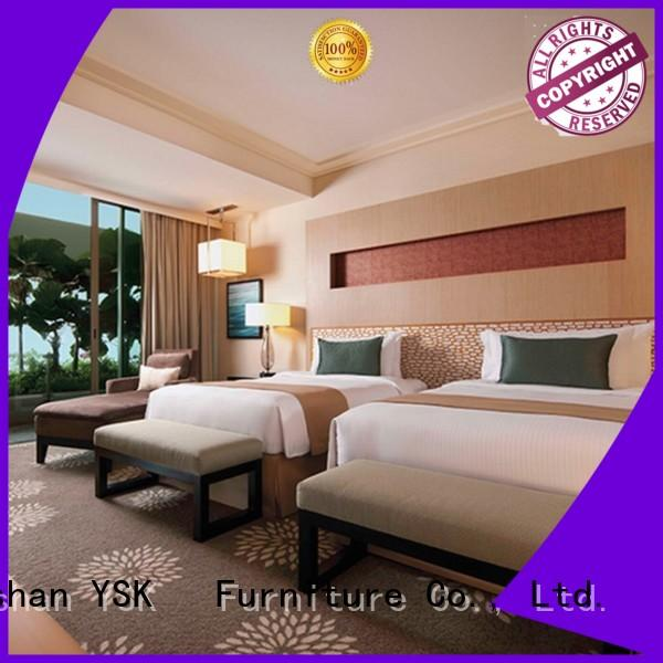 Business Bedroom Hotel Furniture Writting Table Fabric Sofa