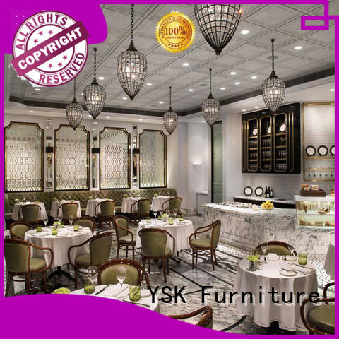 customized restaurant tables stylish furniture YSK Furniture