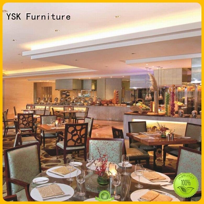 YSK Furniture contract restaurant furniture stylish made five star hotel
