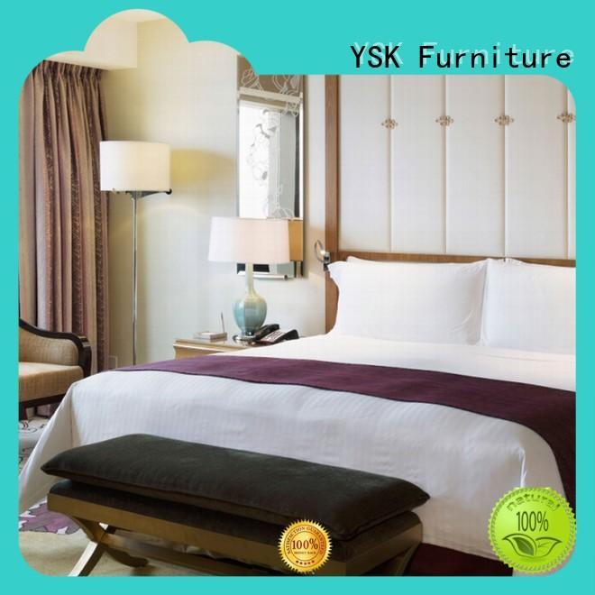 wholesale hotel bedroom furniture suppliers hot-sale for furnishings YSK Furniture