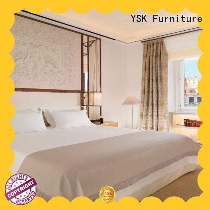 YSK Furniture hot-sale hotel lobby benches quality for furnishings