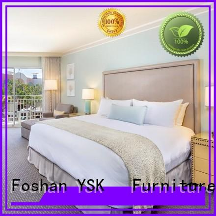 YSK Furniture contemporary hotel room furniture oem hotels solutions