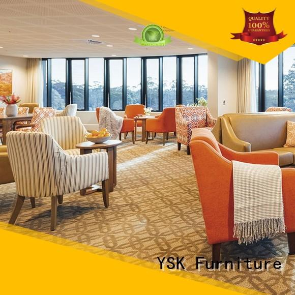 YSK Furniture aged care furniture for assisted living facilities suppliers room decoration