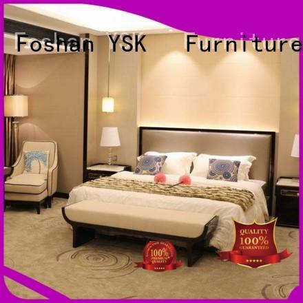 YSK Furniture wholesale hotel furniture set resort