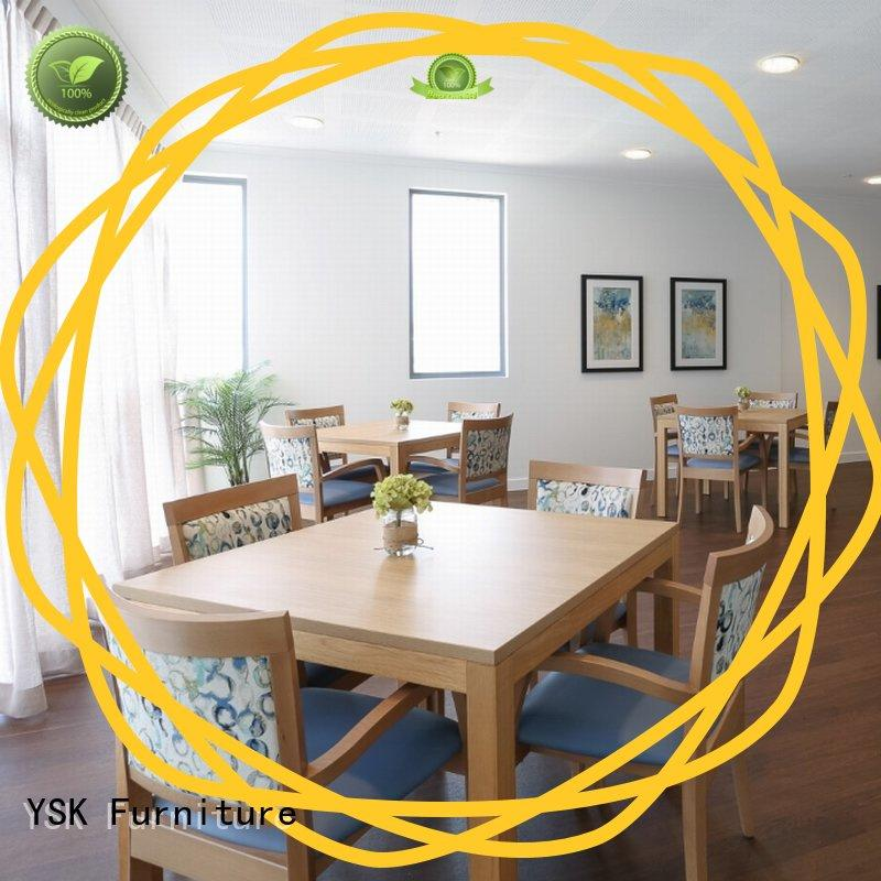 YSK Furniture at discount retirement home furniture health facility community