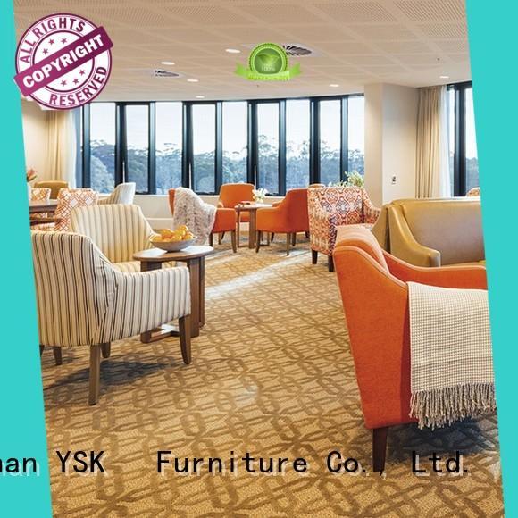 YSK Furniture professional retirement home furniture design room decoration