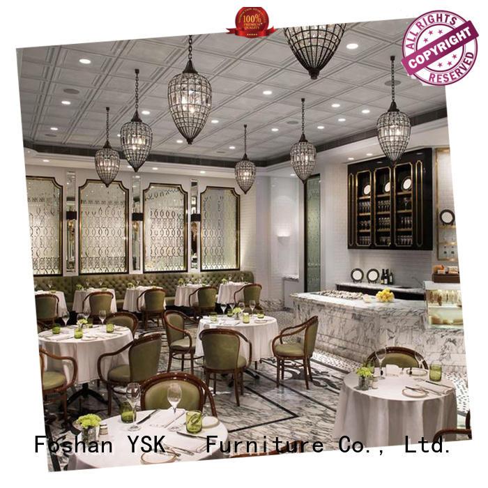 restaurant furniture design Chinese restaurant five star hotel YSK Furniture