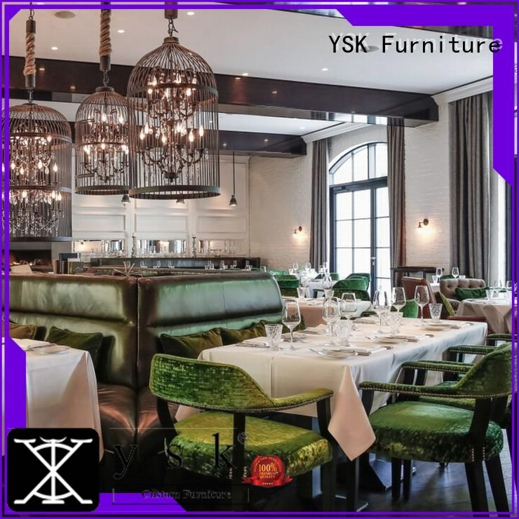 YSK Furniture contract restaurant furniture high quality ship furniture