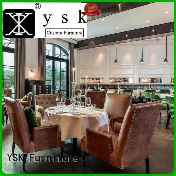 YSK Furniture contemporary custom restaurant furniture plywood ship furniture