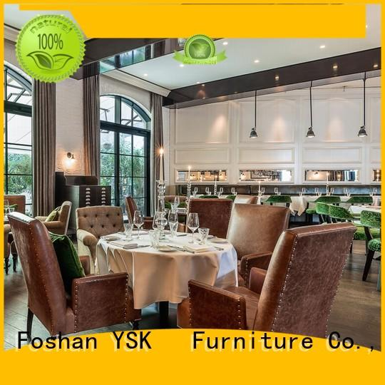 YSK Furniture commercial restaurant furniture stylish made restaurant furniture