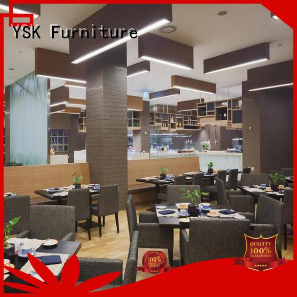 YSK Furniture modern restaurant furniture interior ship furniture