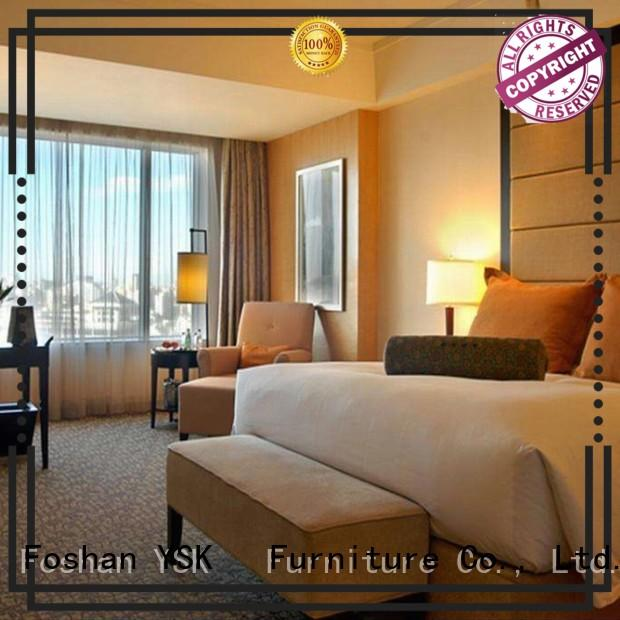 five-star contemporary MDF hotel furniture resort