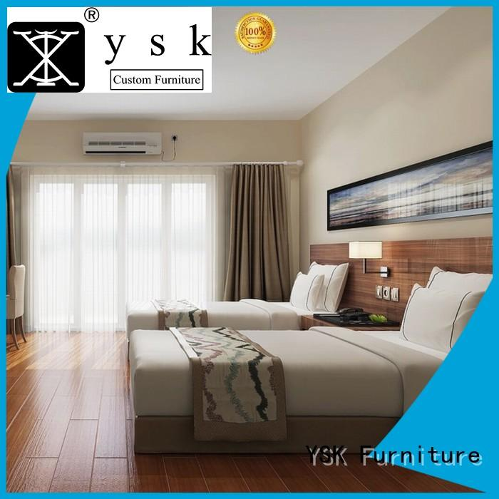YSK Furniture commercial hotel lobby furniture end hotels room